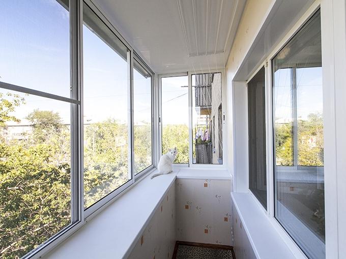 Балкон  окна